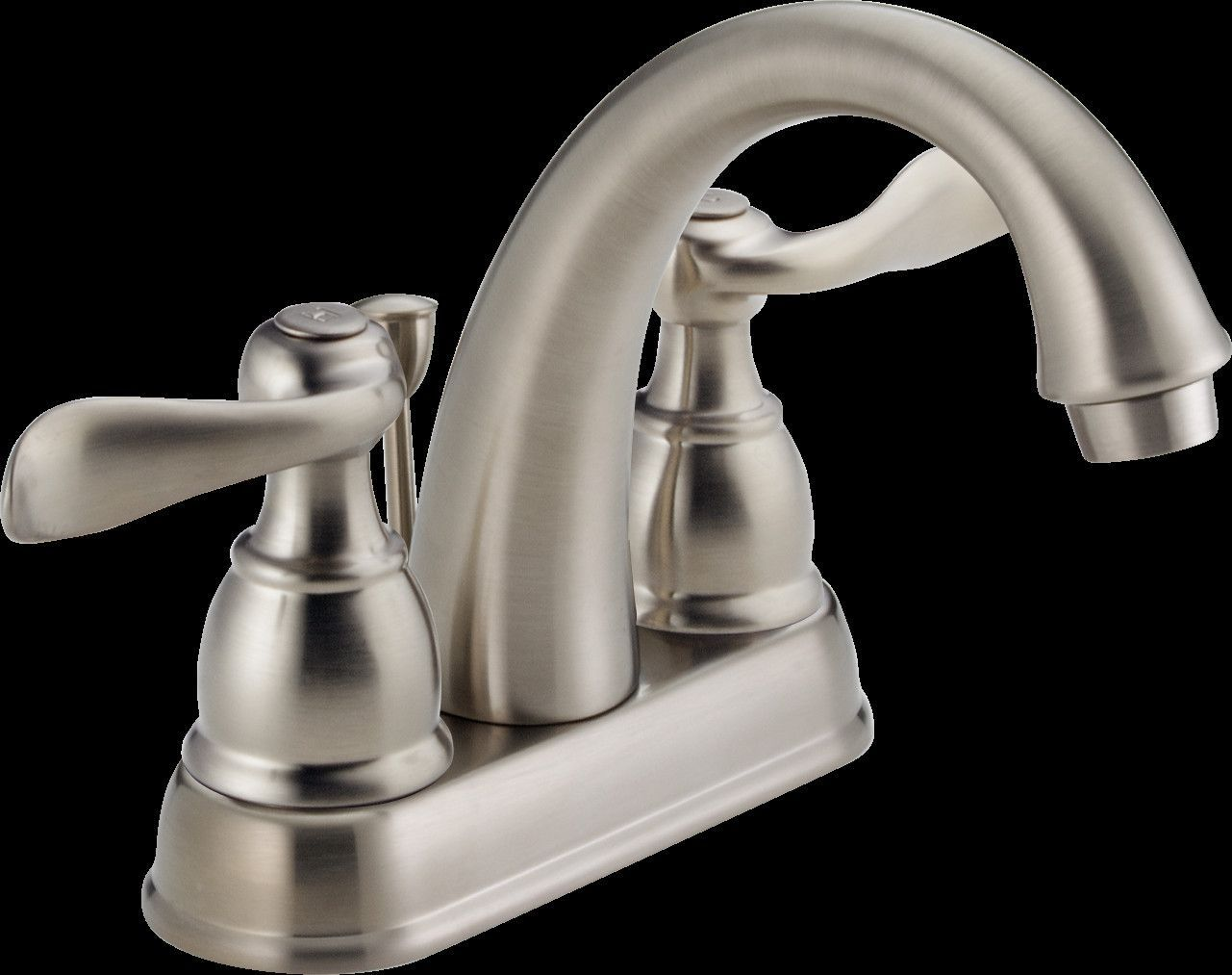 Windemere Centerset Bathroom Faucet with Drain Assembly and Diamond ...