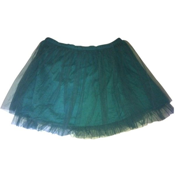 Pre-owned PAUL & JOE Green Skirt (790 ARS) ❤ liked on Polyvore featuring skirts, green skirt, blue skirt and blue green skirt