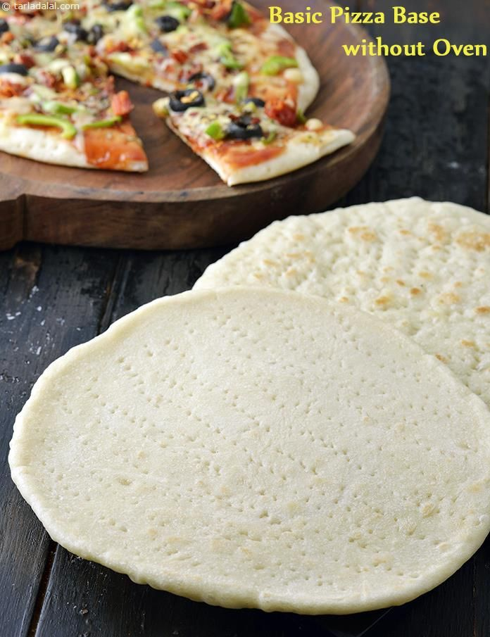 Basic Pizza Base Without Oven How To Make