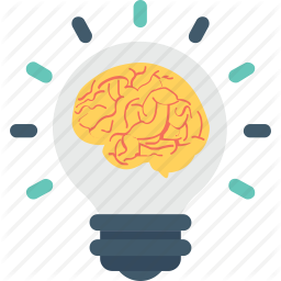 Brain Bulb Business Idea Light Icon Light Icon Icon Icon Set