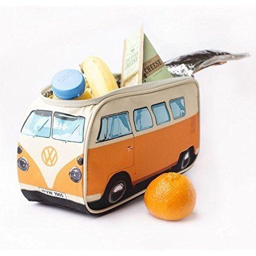 volkswagen t1 bus lunchbox mit thermofunktion in orange vw bulli vesperdose brotdose. Black Bedroom Furniture Sets. Home Design Ideas