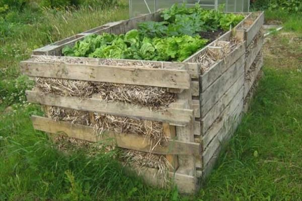 9 Diy Pallet Garden Bed Ideas Paleta De Jardin Jardines