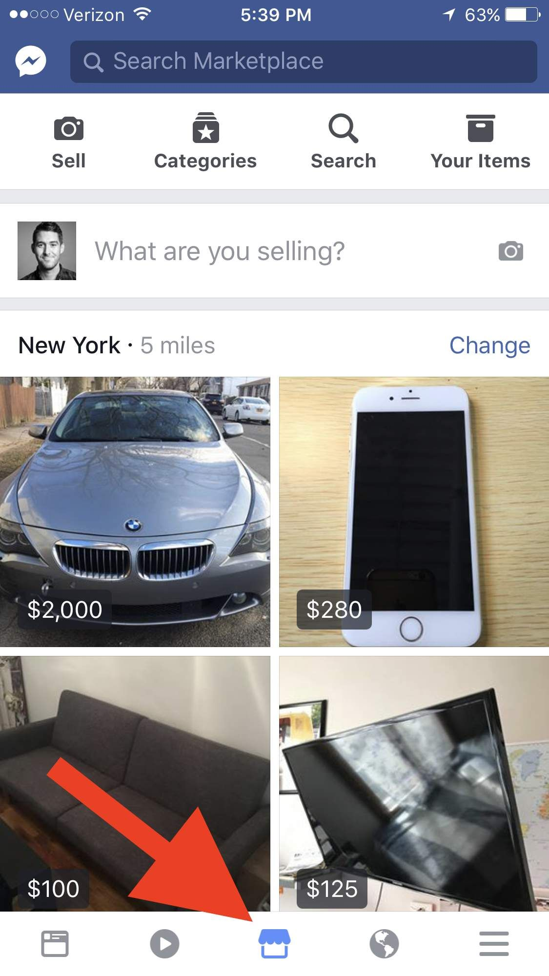 Facebook marketplace cars for sale by owner near me