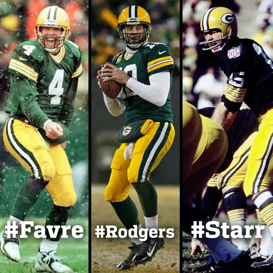 4 12 15 Legends Favre Rodgers Starr Green Bay Packers Fans Green Bay Packers Vintage Green Bay Packers