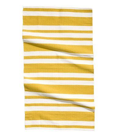 Striped rug, 31 x 55 in. // $24.95 #h+m