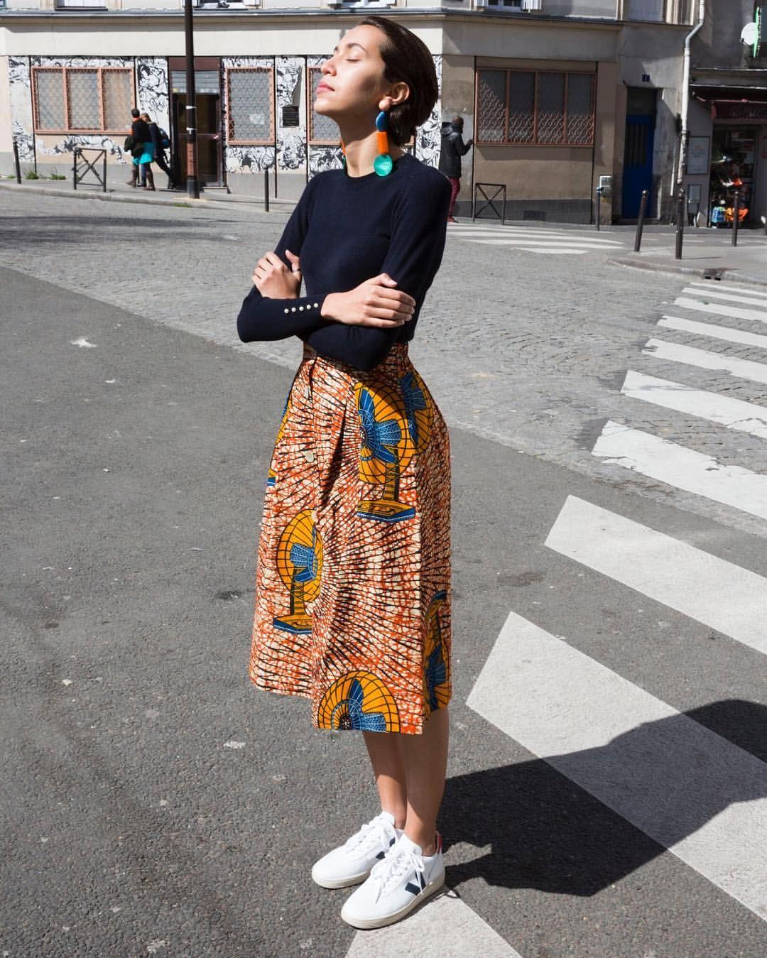 58496f29286e3 MAISON CHÂTEAU ROUGE sur Instagram   ☀ les jupes awa sont de retour en  boutique et ligne 💃🏾