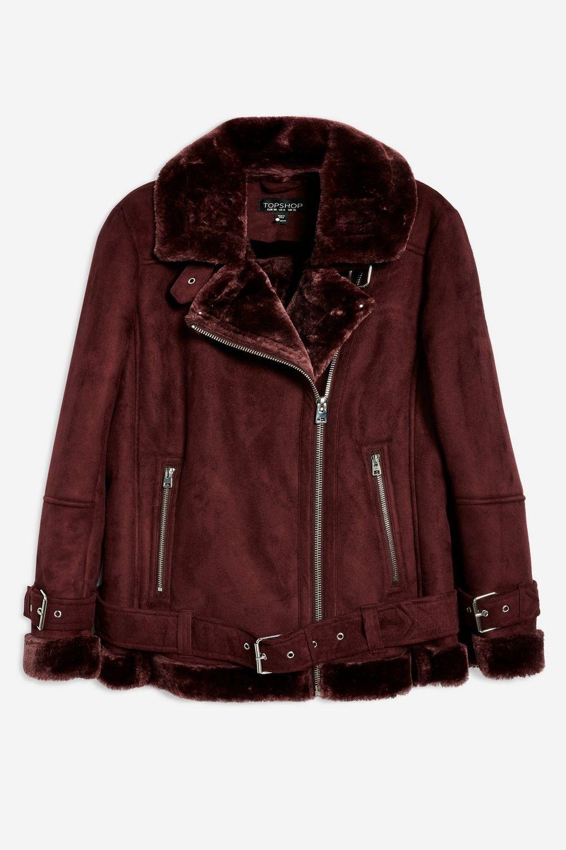 Burgundy Biker Jacket Jackets, Biker jacket, Winter