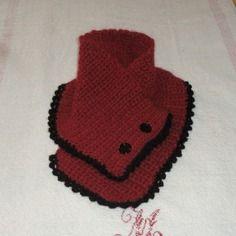 tour de cou au crochet snood bouton pinterest. Black Bedroom Furniture Sets. Home Design Ideas