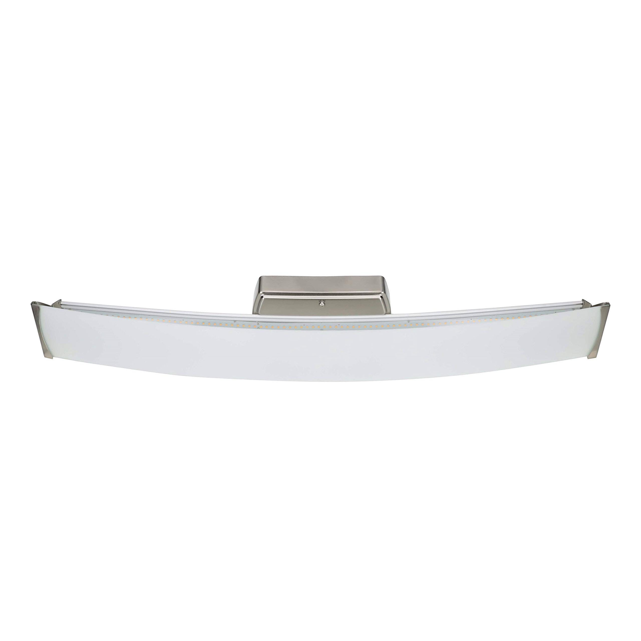 Good Earth Lighting Seattle 32 Inch Led Linear Bathroom Vanity Light Brushed Nickel 300