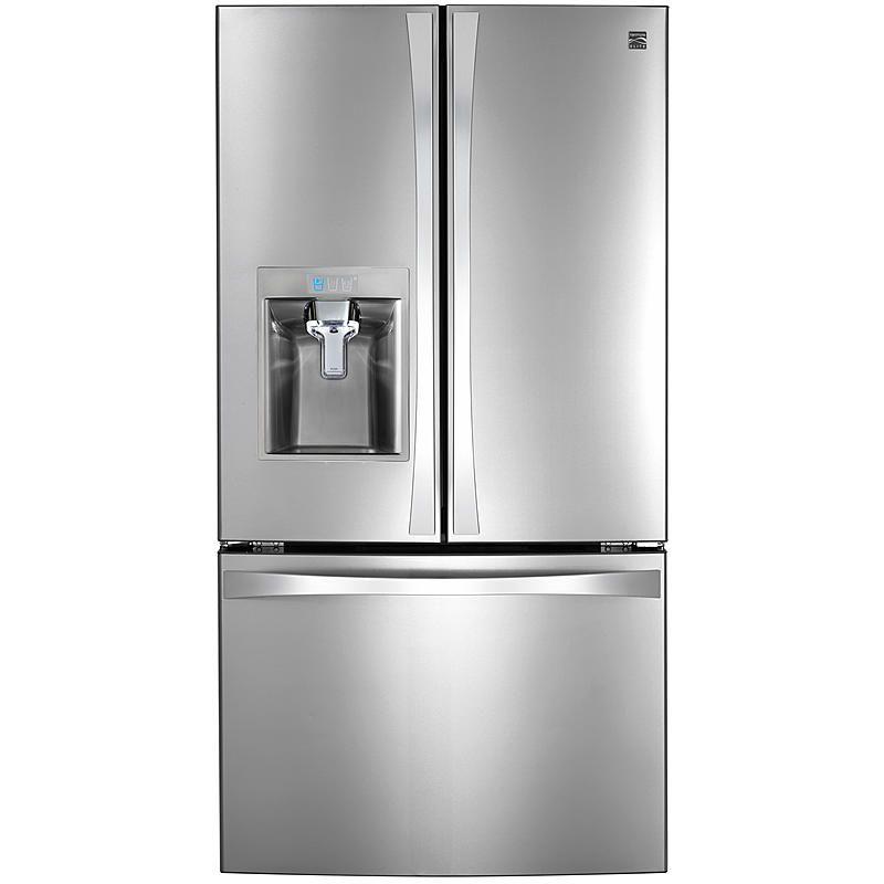 Kenmore Elite 74093 Kenmore Elite 31 7 Cu Ft Super Capacit Bottom Freezer Refrigerator French Door Bottom Freezer Refrigerator Kenmore Elite Refrigerator