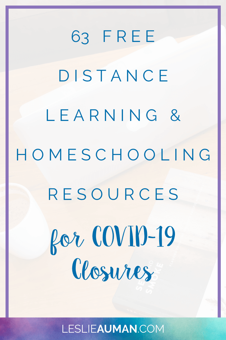 Photo of 63 FREE Distance Learning and Homeschooling Resources for COVID-19 Closures