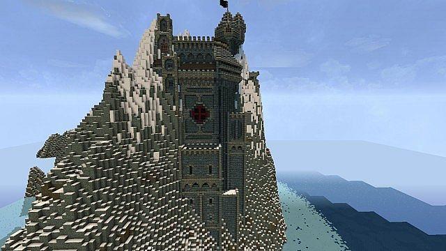 Minecraft Turn Mountain Into Castle