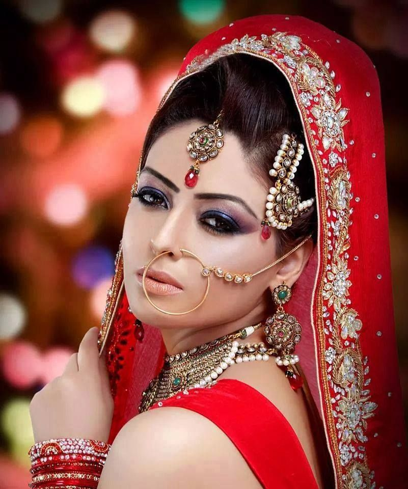 Bridal Eye Makeup With Red Dress - Makeup Vidalondon