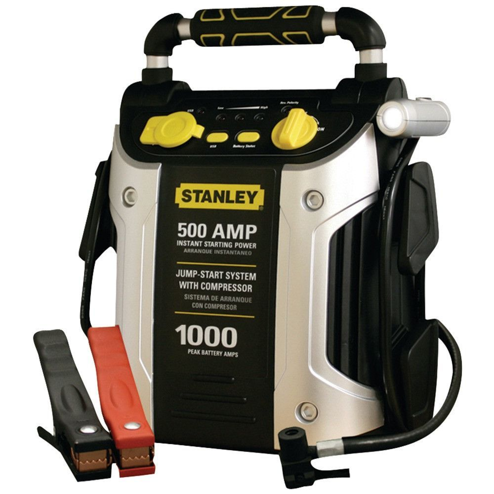 Stanley Jump Starter (500 Amps) (With images) High power
