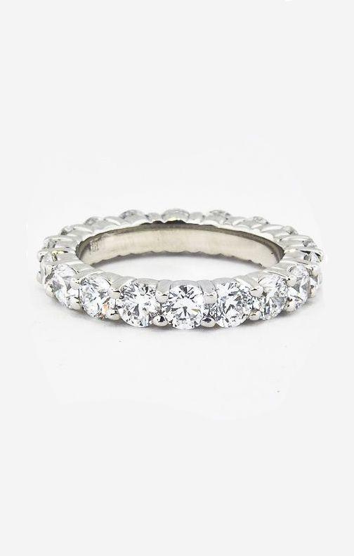 Diamond Eternity Ring (3 ct. tw.) in 18K White Gold