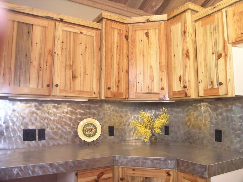 Southern Yellow Pine Kitchen Cabinets Knotty Rustic