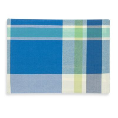 Buy Fiestaa Soiree Plaid Reversible Placemat From Bed Bath