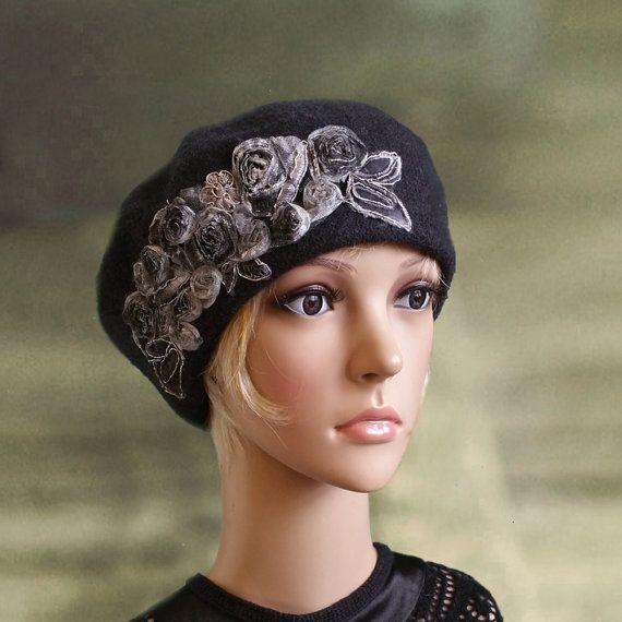 Gris francés beret 414be503c7a