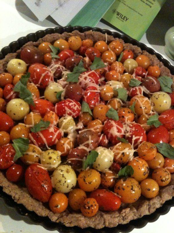 Ho Farms Tomato Tart