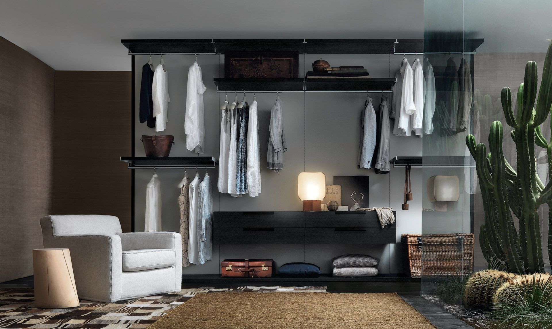 Begehbarer kleiderschrank modern  Begehbarer -Kleiderschrank / modern JESSE | Home_Walk-inWardrobe ...