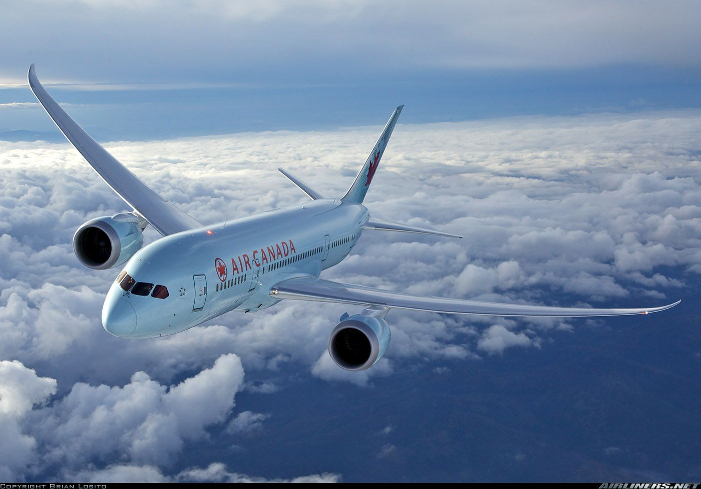 Boeing 7878 Dreamliner Air Canada Aviation Photo