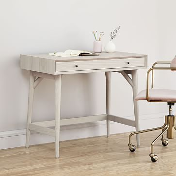 Mid Century Mini Desk Ndash Acorn Westelm In 2020 Mid Century Mini Desk Mid Century Desk Mini Desk
