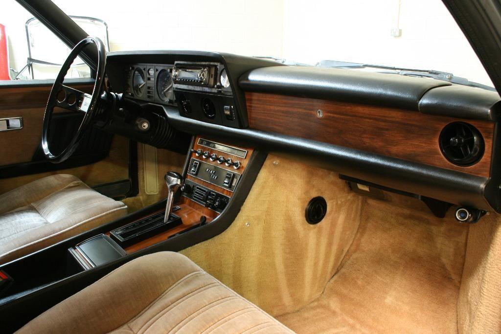 Fiat 130 Coupe Interior Fiat