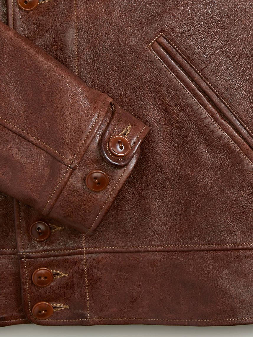 The levi's® vintage clothing menlo cossack jacket is a