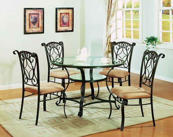 Found @ AmericanFreight.us Jessica 5 Piece Dining Set ...
