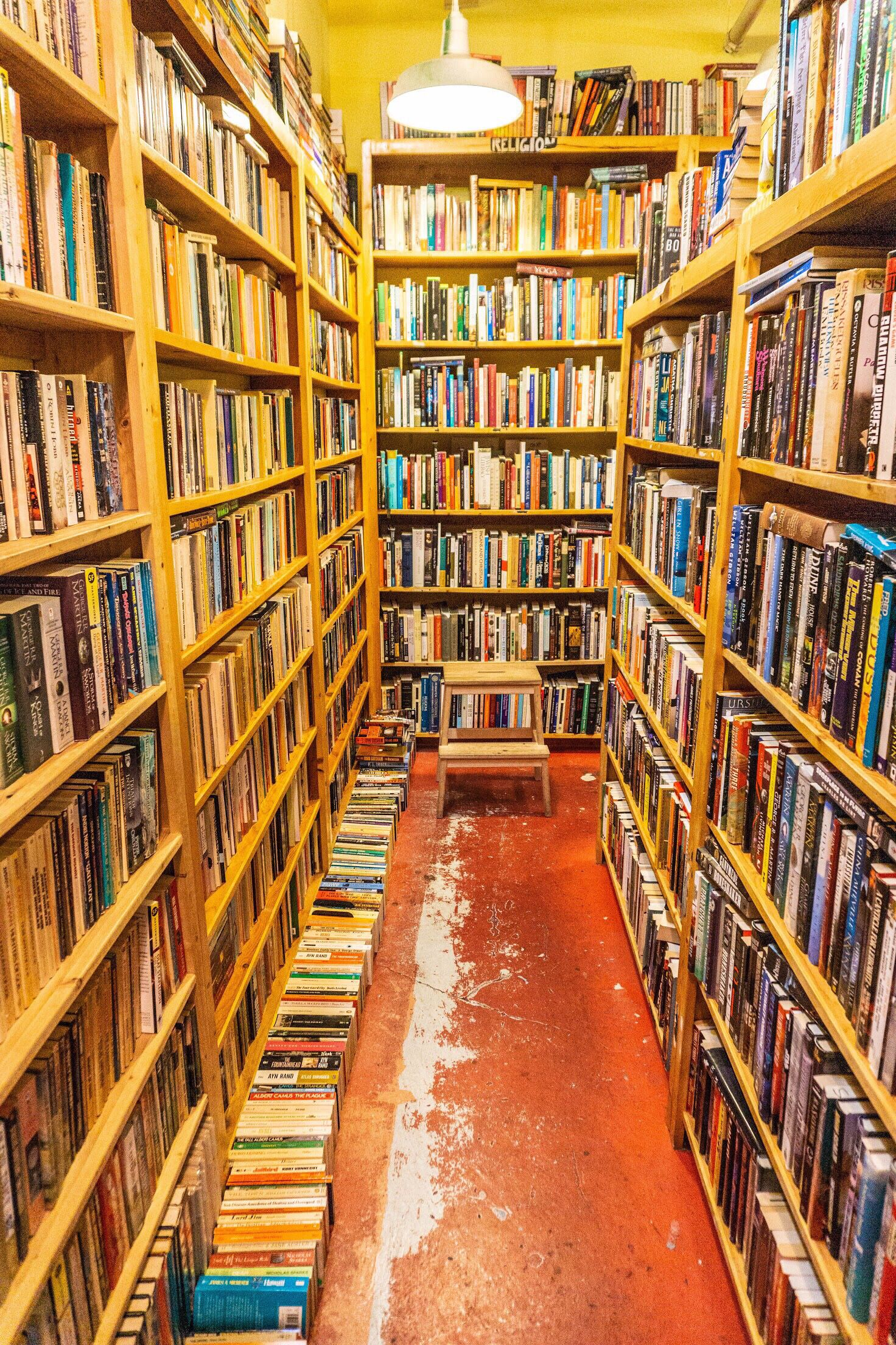 This Enchanting Bookstore Aisle Is Easily Found In Pike Place