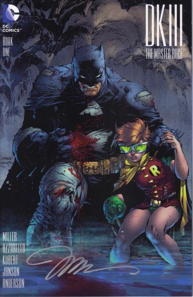 DC Comics DARK KNIGHT III THE MASTER RACE #1 first printing