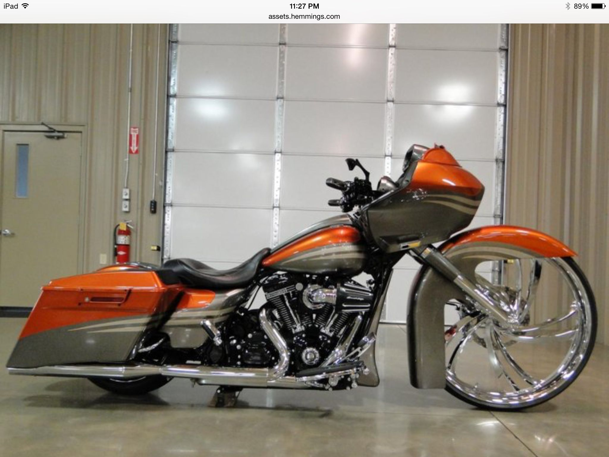 2014 harley davidson screamin eagle road glide cvo scream for sale