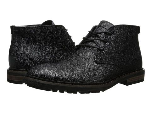 Mens Boots Calvin Klein Jeans Tezer Brown Textured Leather