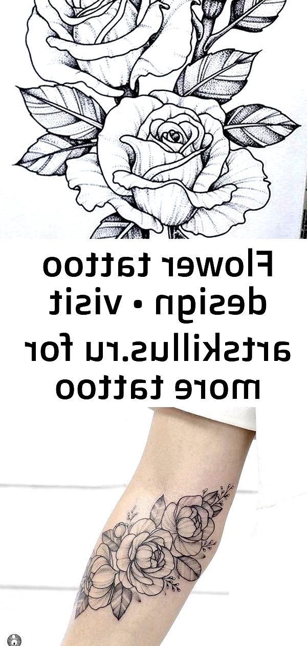Photo of Conception de tatouage de fleur • Visitez artskillus.ru pour plus d'idées de tatouage Mini tatouages, …