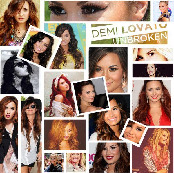 """Demi Lovato"" by salmarak ❤ liked on Polyvore"