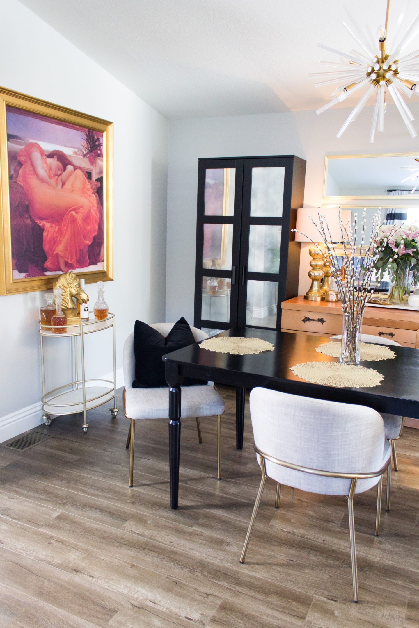 Dining Room Refresh with @Joybird #diningroomdecor #home #design