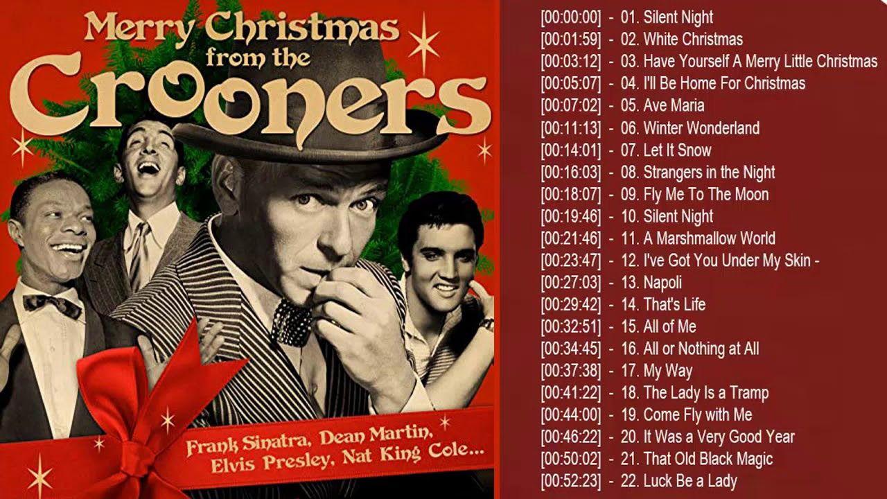 Frank Sinatra Dean Martin Elvis Presley Nat king Cole Christmas Songs Of...