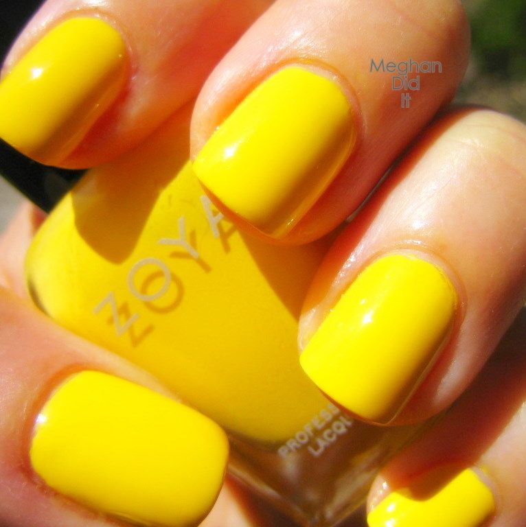 Yellow Is The Main Color Cause Its My Favorite So I Might As Well Have Nails D