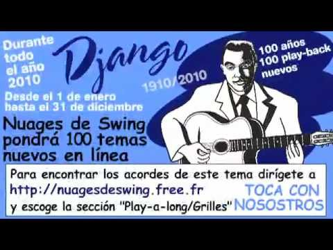 Blue drag : play-back n°097 (Nuages de Swing 100 years Django 100 play-a-long) - YouTube