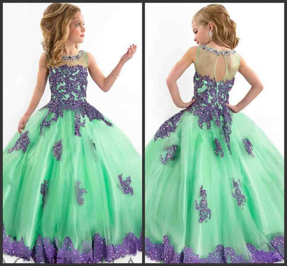 Purple and green flower girl dresses purple flower girl dresses purple and green flower girl dresses izmirmasajfo