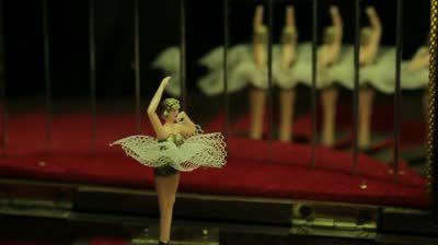 Black Rose LA Vintage BallerinaMy MusicAntique Music BoxCool