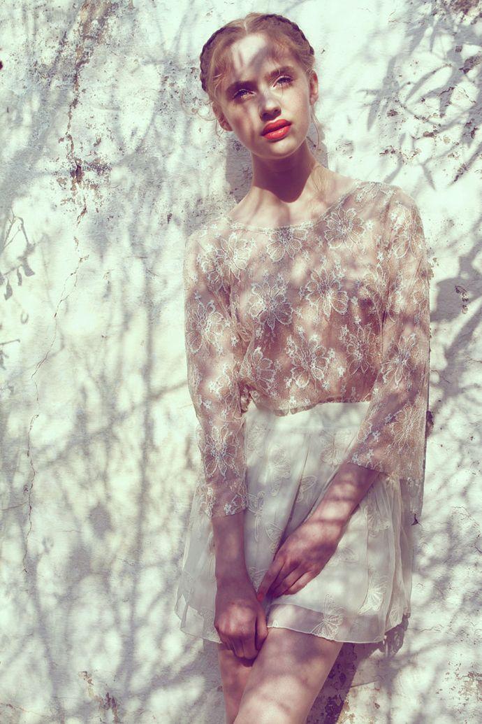sunlight and soft skin