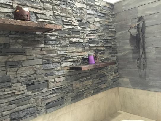 Mobile Stacked Stone Panels Stone Panels Faux Stone Walls