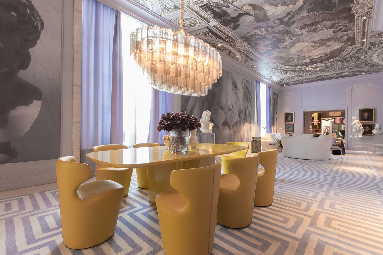 David Bastos Sala De Jantar E Lounge Nylon Modena Design Tivoli  -> Sala De Jantar Atlanta
