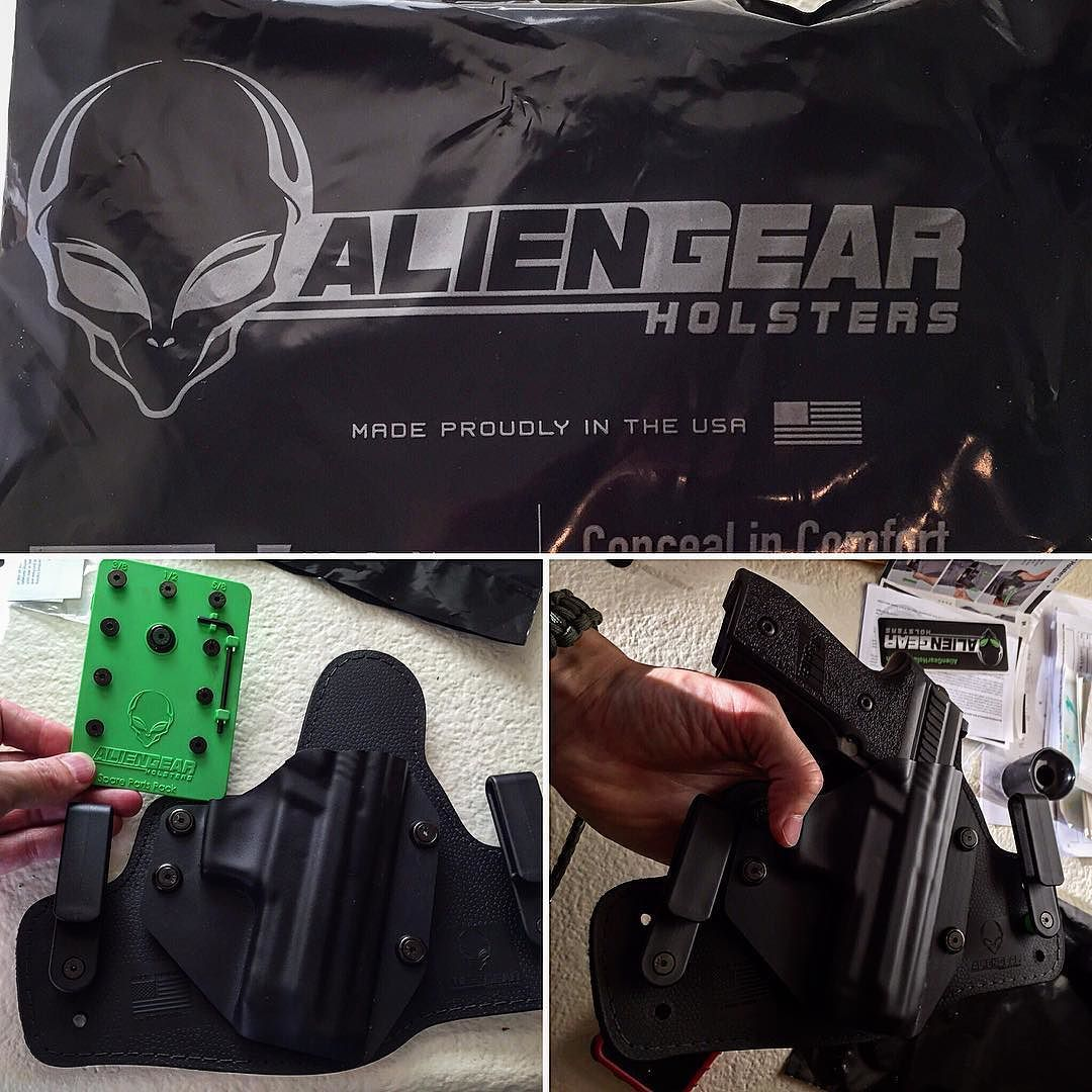 After a full week of wearing my #sig229 in my new #iwb holster by #aliengearholsters I can say I won't be going back to my old  kydex IWB holster. Very comfortable and great weight dispersion. Please make an IWB that accommodates a pistol light @aliengearholsters - - - -  #wytac #wyvernoutfitters #guns #gunsdaily #tacticalgear #bugoutgear #tactical #edc #edcdaily #edcgear #gunporn #gun #sheepdog #america #2a #2ndamendment #freedom #merica #merica #nra #america #freedom #merica #2a…