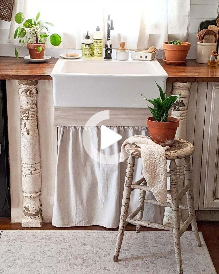 DIY Farmhouse Kitchen Sink Remodel - Down Shiloh Road