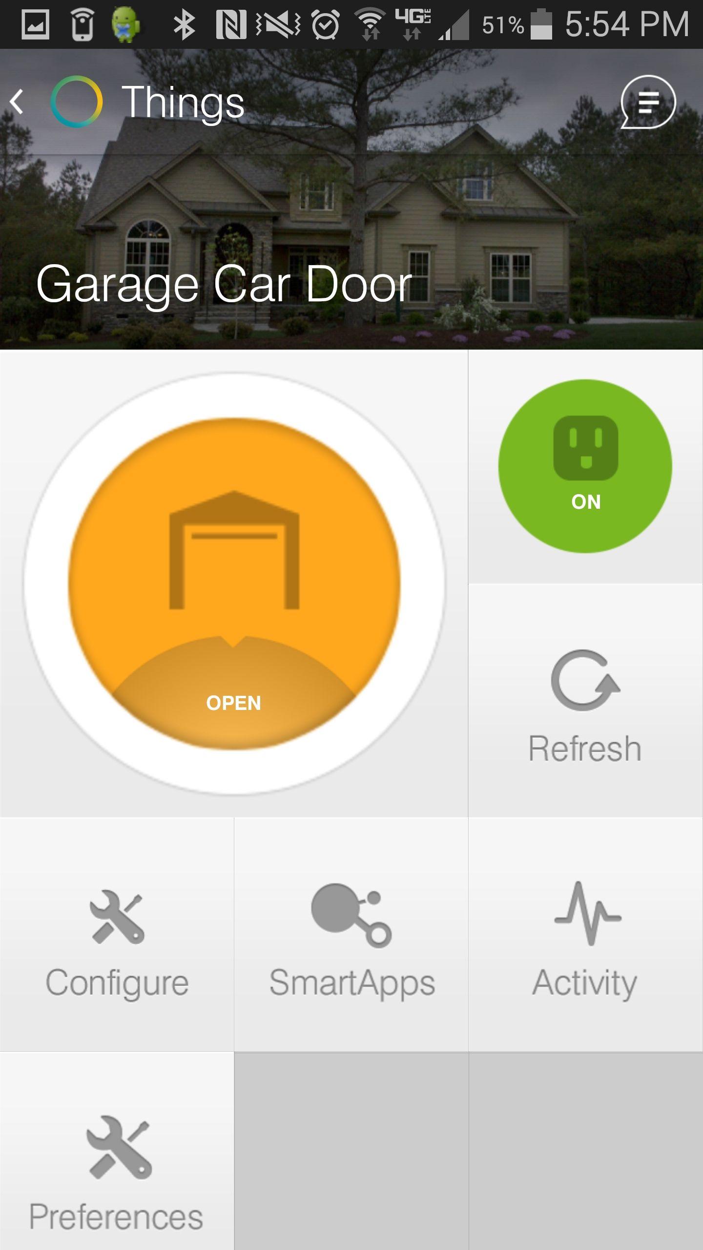 iris garage door opener smartthings - Smartthings Garage Door