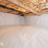 Cleanspace Crawl Space Vapor Barrier By Jes Crawl Space Encapsulation Crawlspace Building A New Home