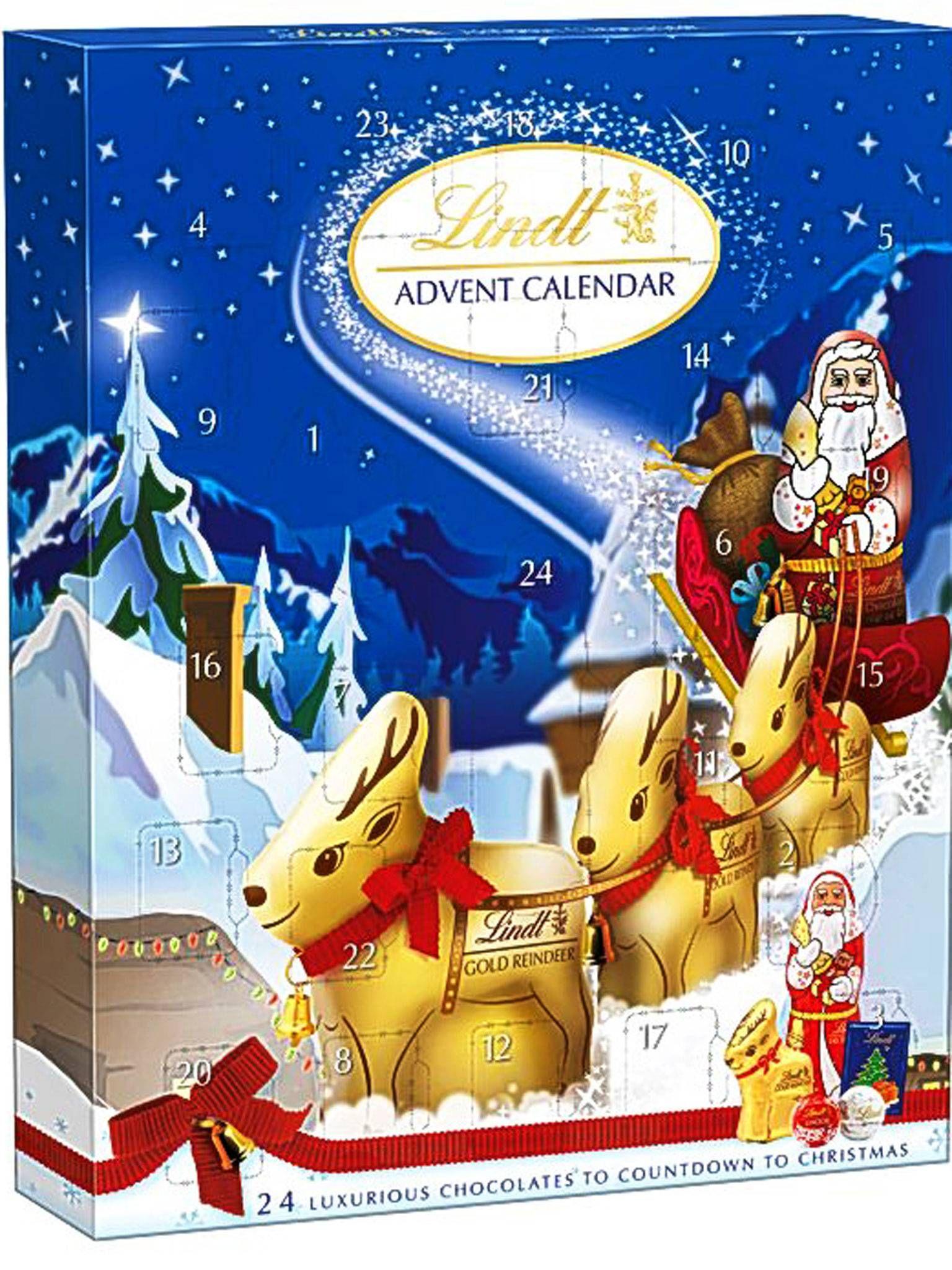 The 10 Best advent calendars Lindt advent calendar