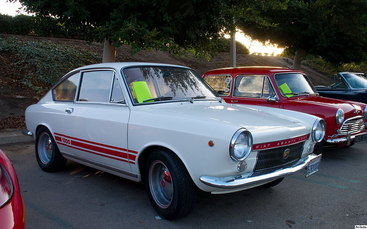 1968 Fiat Abarth 1300 Coupe White With Images Fiat 850
